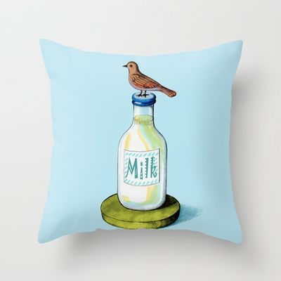 Is Mine! Throw Pillow by Chicca Besso - $20.00