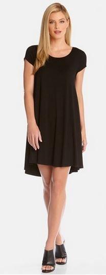 Super Cute! I LOVE this Little Black Dress! Karen Kane 'Maggie' High/Low Black Trapeze Dress @Nordstrom #Karen_Kane #LBD #Black #HiLo #Trapeze #Dress #Nordstrom #Fashion