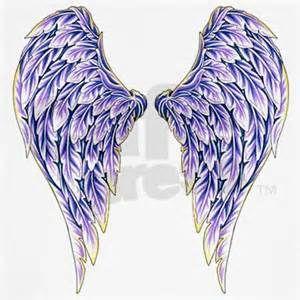 Purple Angel Wings Shirt Designer Tattoo Design T Shirts And More