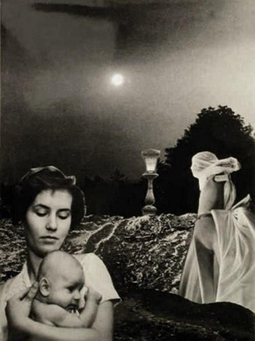 """Zofia Rydet - Photo extraite de la série """"Maternité"""" , 1960-1970"""