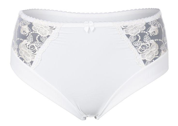 Mega seje Oprah - Hvid Maxi Trusse i Store Størrelser Plaisir Modetøj til Damer i fantastisk kvalitet