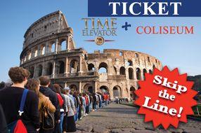 Ticket Time Elevator + Coliseum -rome