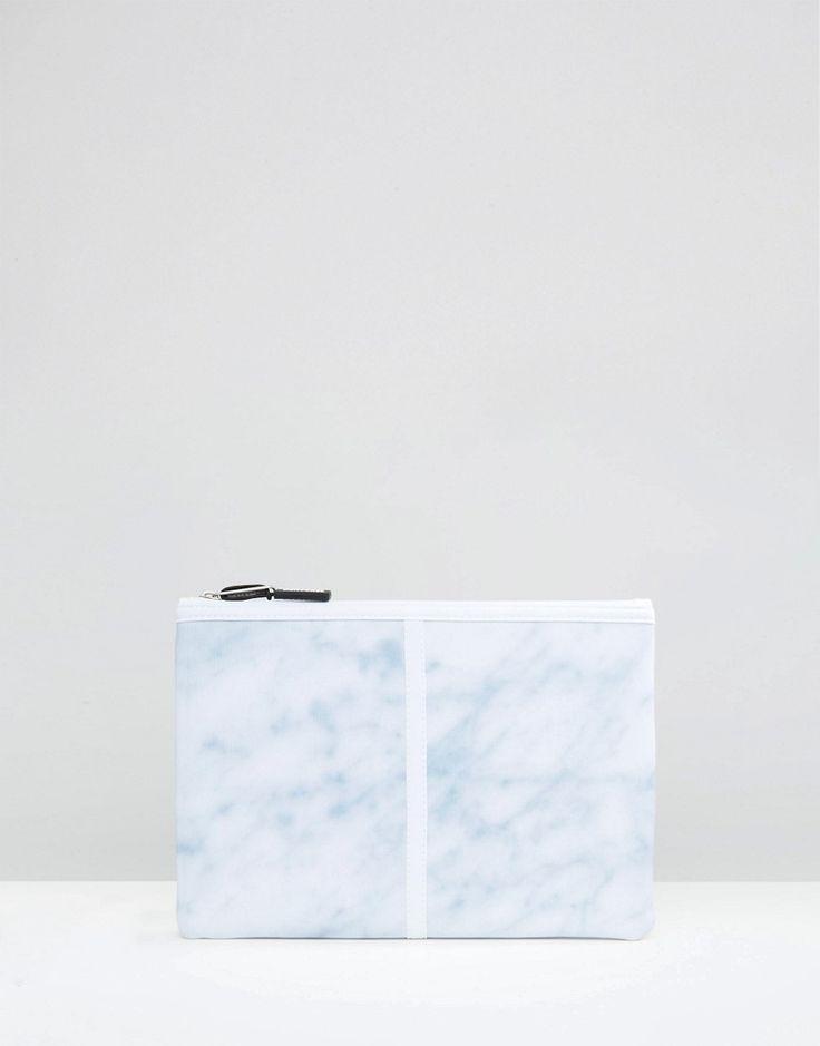 Bild 1 von Herschel Supply Co – Network – Große, marmorierte Beuteltasche