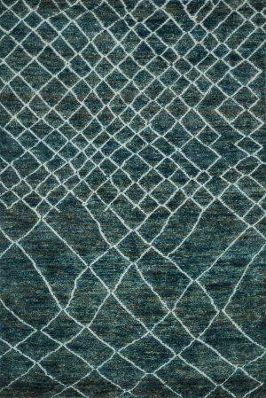 RugStudio presents Loloi Sahara Sj-08 Mediterranean Hand-Knotted, Good Quality Area Rug
