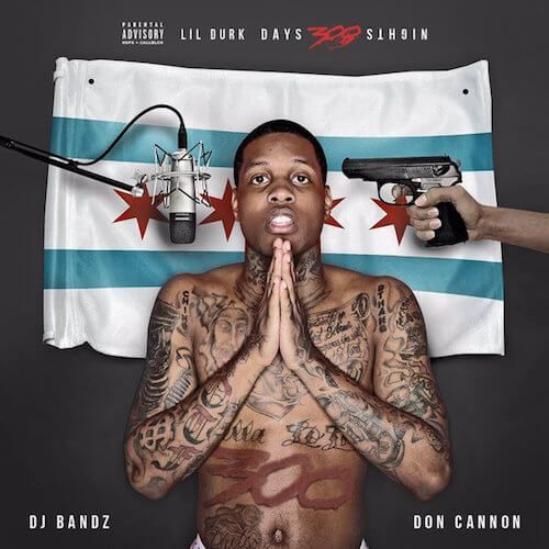 "Stream and download Lil' Durk's '300 Days 300 Nights'.   Lil' Durk ends the year off strong, by giving fans the long-awaited mixtape 300 Days 300 Nights. Hosted by Don Cannon and DJ Bandz, the 19-track mixtape features guest appearances and production from Future, Meek Mill, DeJ Loaf, Young Dolph, Murda Beatz, C-Sick, and more. Along with the new music, Lil' Durk also debuts the music video for ""Gunz And Money"" off300 Days 300 Nights. Download the mixtape and watch below…"