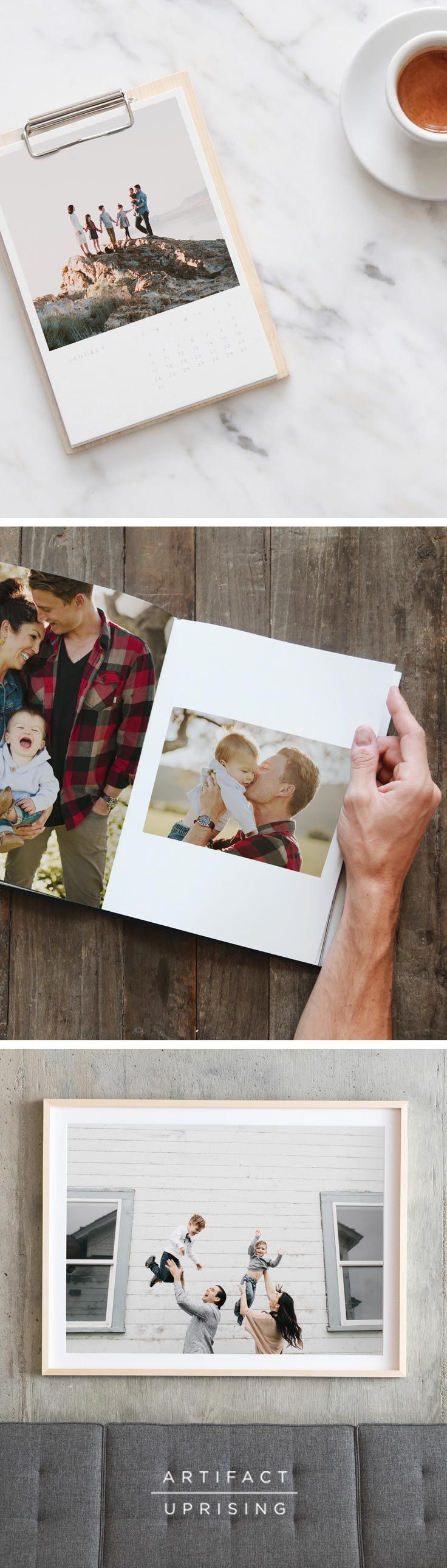 Please, not another tie. This Father's Day, create custom photo books, prints & gifts with @artifactuprsng. Just add your photos and be on your way to creating the best Father's Day gift to date.