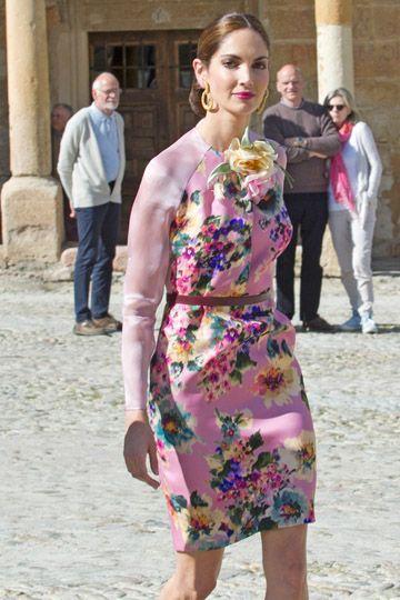 El maravilloso vestido de la novia: La Boda de Gonzalo Machado y Mafalda Muñoz