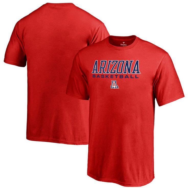 Arizona Wildcats Fanatics Branded Youth True Sport Basketball T-Shirt – Red