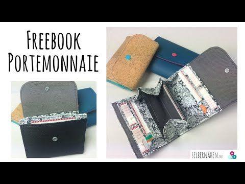 """Anleitung zum Freebook """"Portemonnaie"""" von selbern…"""
