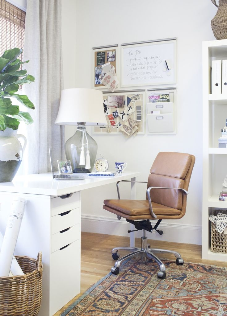 134 best images about home office organization on pinterest - Pottery barn office desk ...