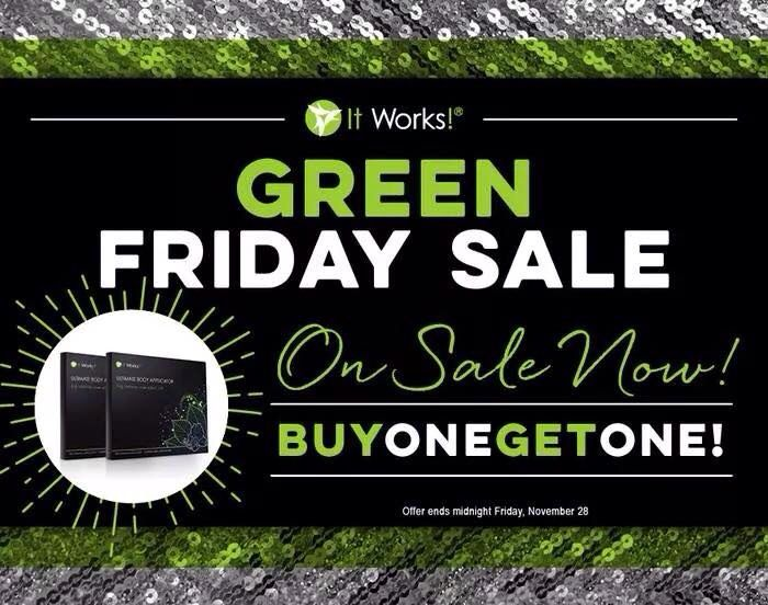 """Green Friday went over so well the company generously extended the bogo sale one more day!! Buy one box of wraps for $59 and get one box FREE!!!!So why not take advantage of this amazing deal and get your body ready for the upcoming holiday season. So what are waiting for contact me today and I'll hook you up!Call 204-299-9824 or text """"Bogo"""" and I'll contact you!!#bogo#extended#sale#amazing#deal#tighten#tone#firm#body#holiday#season#men#women#BOOM#123itsthateasy"""