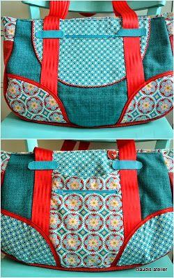 Claudis Atelier: Schnabelina-Bag (Small)