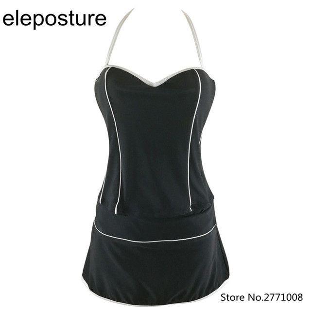 Plus Size Tankini Swimsuit Swimwear Women High Waist Bathing Suits Three Piece Swimwear With Skirt Tankini Swimsuits Beach Wear