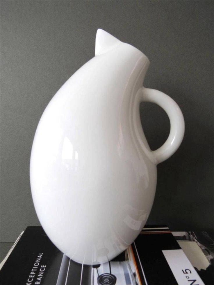 Vintage Arabia Large Olga Milk Jug Storybird Series by Kati Tuominen Niittyla