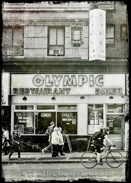 Olympic Diner - by Daniel F OIiverio