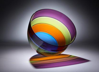 Weiner – Quad Encalmo Bowl « Martha's Vineyard Glassworks