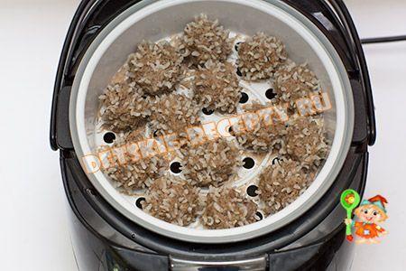 ежики с рисом в мультиварке