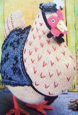 Beatrix Potter - Henny Penny - Knitting pattern by Alan Dart Alan Dart Pi...