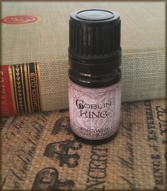 GOBLIN KING Perfume Oil / inspired by Labyrinth perfume by SaraWen