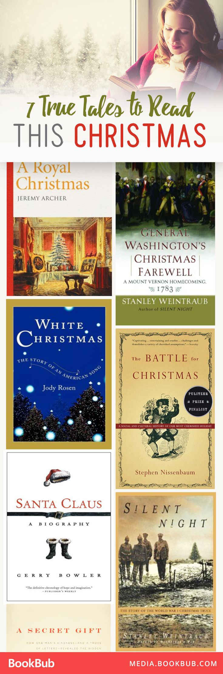7 nonfiction books to add to your holiday cheer.