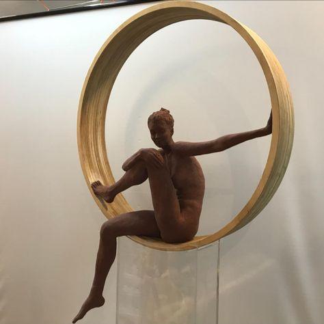 """Untitled III"", Ceramic sculpture by Helen Mudie Ioannidou"