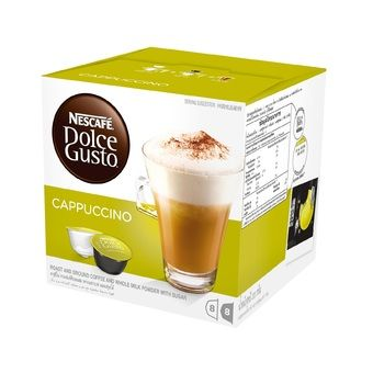Buy NESCAFÉ Dolce Gusto Cappuccino (16 Capsules) online at Lazada Singapore. Discount prices and promotional sale on all Coffee. Free Shipping.