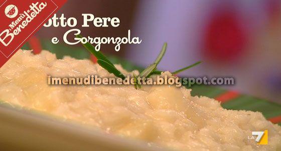 Risotto Pere e Gorgonzola di Benedetta Parodi