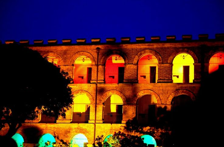 Light and Sound Show at Cellular Jail