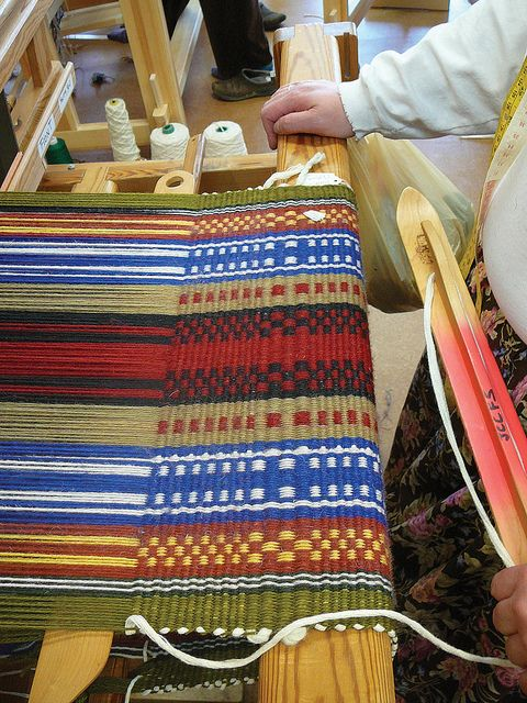 Dunning's Weaving Class by John C. Campbell Folk School, via Flickr