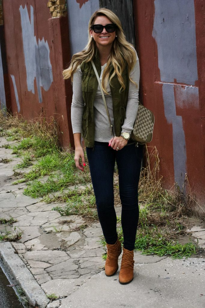 Outfit | Fall Tunic Cargo Vest - DANDY | Shop Dandy Blog | Just Dandy by Danielle