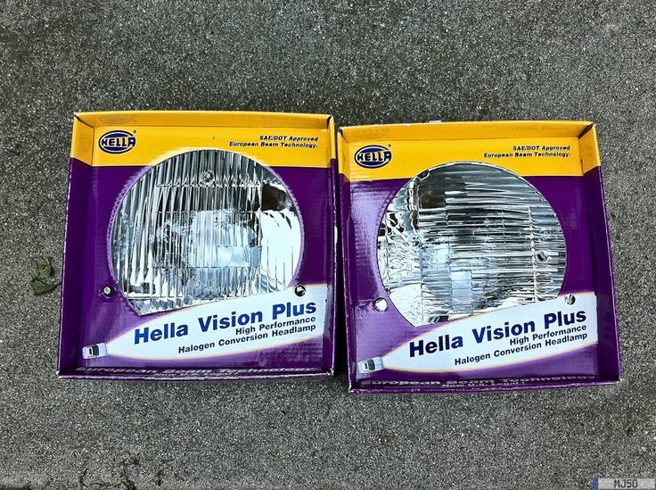 Hella headlights
