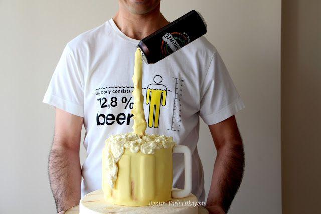 antigravity cake beer cake funny cake adult cake
