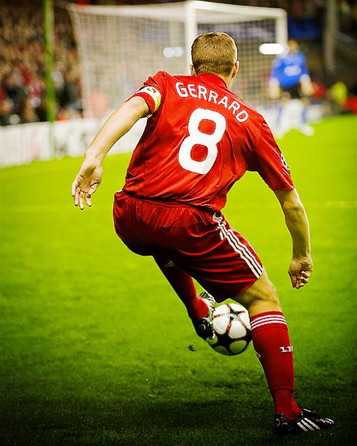 Stevie G... Possibly one of the Best to ever play the game.