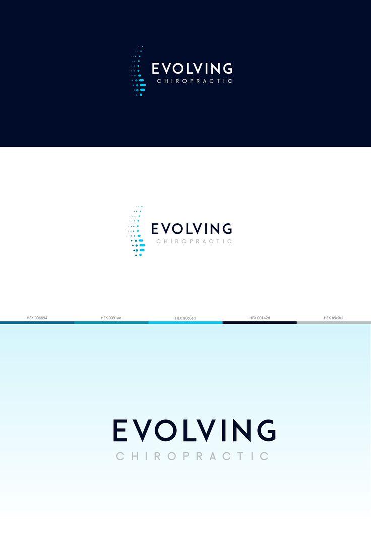 Evolving Chiropractic Logo on Behance