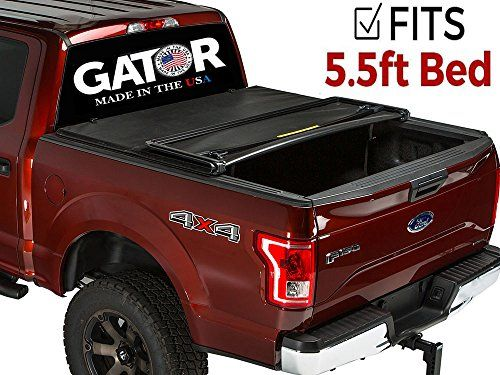 Gator Tri-Fold Tonneau Truck Bed Cover 2015-2018 Ford F150 5.5 Bed - Gator tri-fold tonneau cover the gator tri-fold tonneau cover is a stylish cover at an affordable price. The tri-fold provides a hassle free, low maintenance cover that will keep your belongings safe and dry. The cover features very durable, tear resistant vinyl tarp with a nice textured finish. ...
