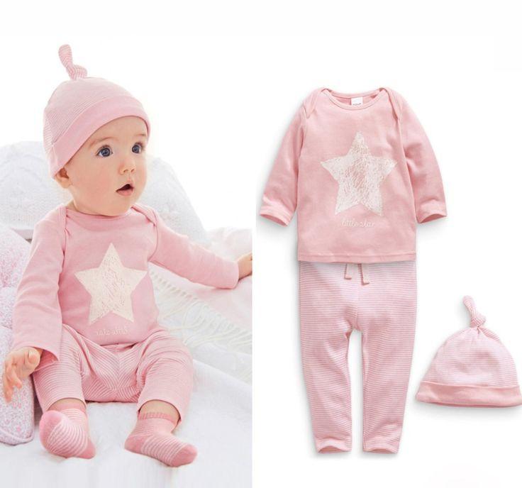 >> Click to Buy << Eceran 2015New musim semi dan musim gugur bayi laki-laki pakaian, 100% katun 3 pcs bintang-bintang rekreasi bayi laki pakaian #Affiliate