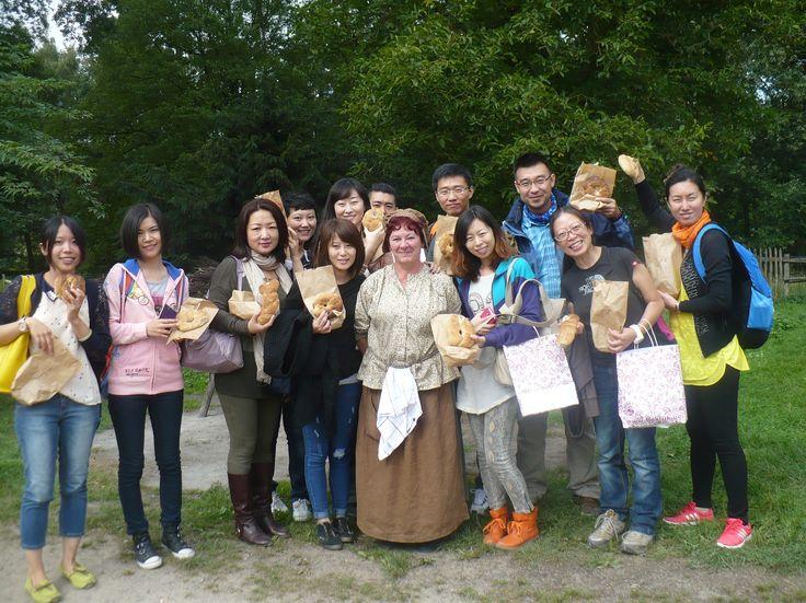 Chinezen op bezoek...