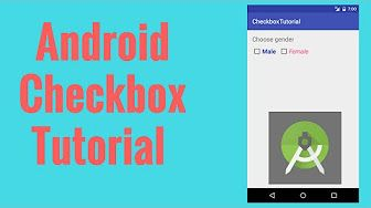 In this Android Checkbox tutorial you will learn how to add a android checkbox in your app, do some customization in terms of changing color and style to suit your requirement.