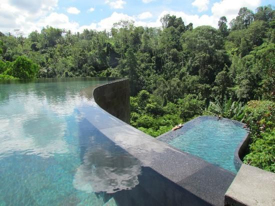 Ubud Hanging Gardens in Bali. Note to self, book immediately!