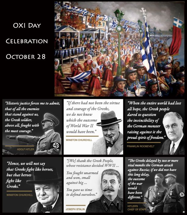 "WHY HAVE I NEVER HEARD THIS?!? I love history, read all the time, watch Discovery & History Channel, and *still* had no clue! | October 28: The Anniversary of ""OXI"" Day"