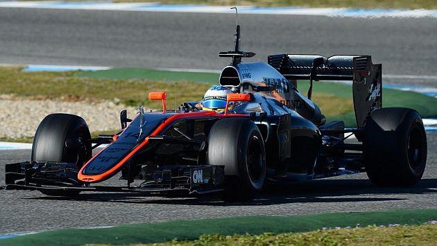 Fernando Alonso test drives his McLaren-Honda in Jerez - MARCA.com (English version)