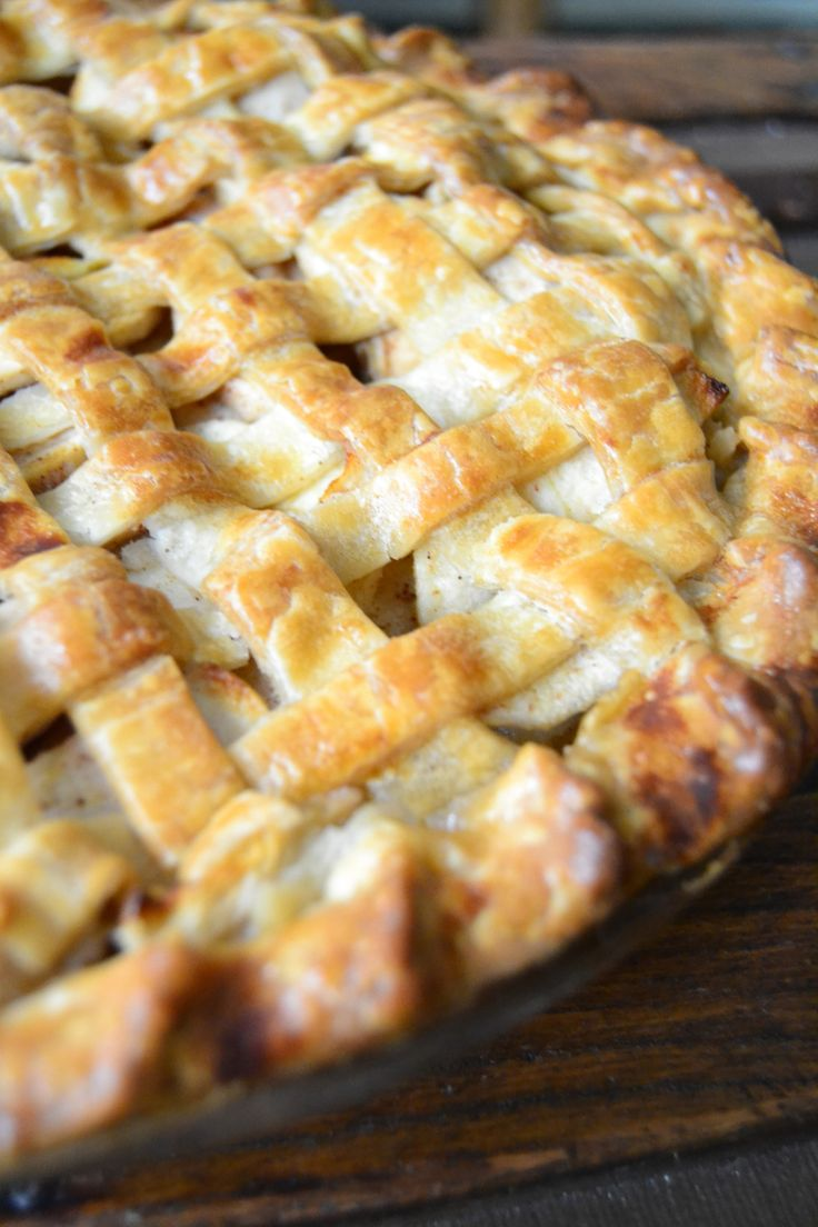 Old Fashioned Apple Pie | My second love(FOOD!) | Pinterest
