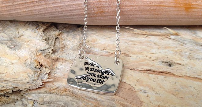 Majique Jewellery - You are braver than you believe. Find it at www.giftedmemoriesjewellery.com.au