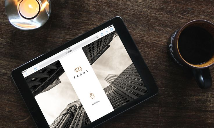 Paxus - Website on Behance