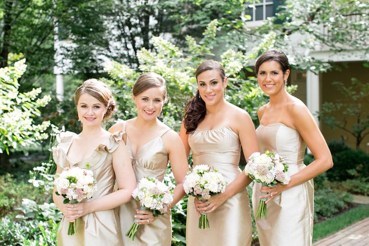 Bridesmaid Dresses In Neutrals Champagne Beige And Pale: 11 Best Neutral Palette Wedding Images On Pinterest