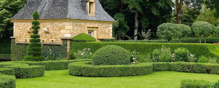 Jardins du Manoir d'Eyrignac - Dordogne - Périgord - Jardins du manoir d'Eyrignac
