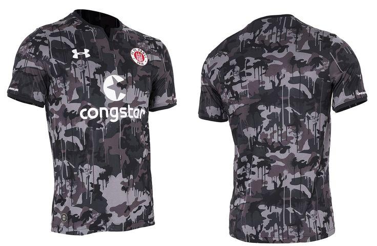 Camisas do St. Pauli 2017-2018 Under Armour | Mantos do Futebol Camisas de Futebol