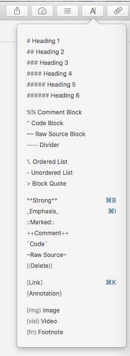 Using Markdown in @Ulyssesapp - Easy peasy (scheduled via http://www.tailwindapp.com?utm_source=pinterest&utm_medium=twpin&utm_content=post47978334&utm_campaign=scheduler_attribution)