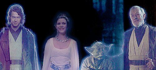 """Carrie Fisher is Now One with the Force …"