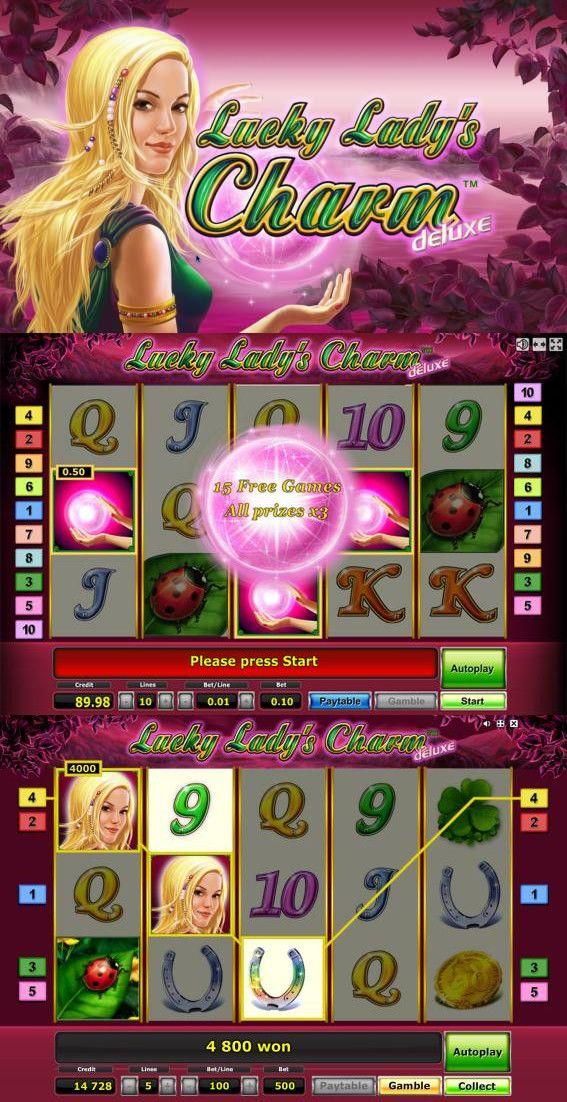 Игровой автомат Lucky Ladys Charm Deluxe - самый удачливый слот казино Вулкан! Буквально каждый символ этого аппарата приносит успех и шикарные выигрыши! Сыграйте в слот, где удача всегда на вашей стороне!